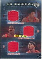2006-07 UD RESERVE TRIPLE JERSEY: MARVIN WILLIAMS/CHILDRESS/JOSH SMITH #7/25