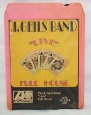 VINTAGE 8 TRACK THE J. GEILS BAND LIVE FULL HOUSE ATLANTIC TP-7241 ~ 8-1