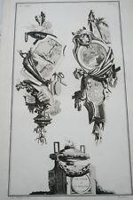 EAU FORTE JEAN CHARLES DELAFOSSE-VOYSARD LE JAPON ET SA RELIGION-TROPHEES 1772