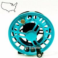 FMO Fly Reel 4//5wt CNC Machined Fly Reel Large Arbor Disc Drag SUPER SALE!