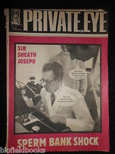PRIVATE EYE - Vintage Satirical Political News Humour Magazine - 14th March 1980