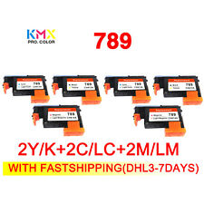 2set 789 printhead compatible For hp789 for hp 789 L25500 CH612A CH613A CH614A