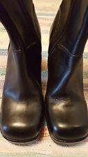 Steve Madden 8 tall goth chunky glam retro 90's platform fashion boot NWOT black
