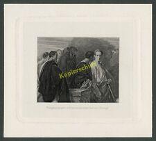 o. Photogravüre Cäsar Zepter Brutus Rom Antike Historismus Hazura Deininger 1880