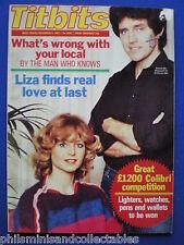 Titbits Magazine - Liza Goddard, Bobby Knutt, Cyd Hayman  4th Dec. 1982