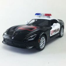 "New 5"" Kinsmart 2013 Dodge SRT Viper GTS Police Car Diecast Model Toy Cop 1:36"