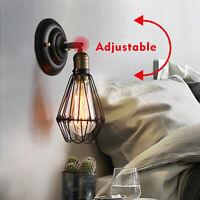 Retro Vintage Industrial Wandleuchte Antik Stil Eisen Kunst Wandlampe leuchte