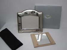 "VINTAGE HAZORFIN 925 STERLING SILVER LARGE 13"" X 12.25"" STANDING FRAME w IVY MIB"