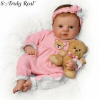 Ashton Drake UN-BEAR-ABLY Cute So Truly Real baby Doll NEW Gift Real Touch Vinyl