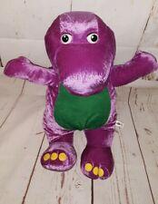 "20"" Barney Dinosaur Large Plush Stuffed Animal Nanco 2006"