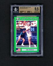 1991 NetPro John McEnroe BGS 9.5 🎾 7 Slams 🎾 New Label. Two 10 Subgrades.