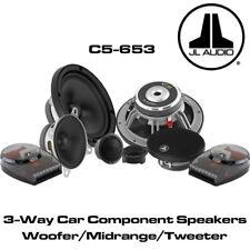 """JL Audio C5-653 - 6.5"""" 17cm 225 Watt 3 Way Component Speakers Set Door Speakers"""