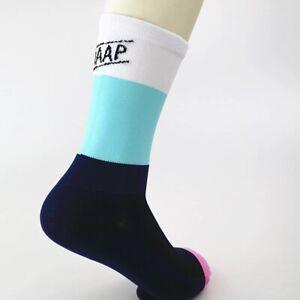 MAAP cycling socks White/Blue +39-44 (UK) RRP £12.99