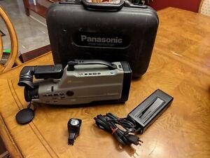 Vintage Panasonic VHS Reporter AG-188-P Camcorder W/ Original Case