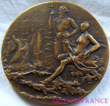 MED4160 - MEDAILLE REGATES SNC 1920 SOCIETÉ NAUTIQUE de MARSEILLE - FRENCH MEDAL