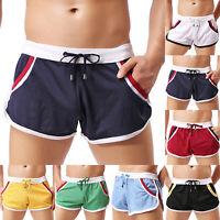 Men Summer Swim Shorts Swimwear Swimming Trunks Underwear Boxer Briefs Pants