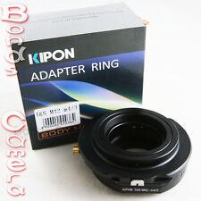 Kipon Tilt & Shift M42 Montura Carl Zeiss Lente Micro 4/3 Adaptador Gf6 E-PL5 P5