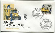FDC BERLIN  27.09.1990   THEME TRANSPORT