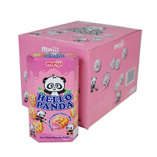 Hello Panda galletas lleno de Fresa - 10 X 50G