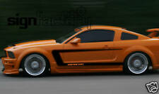 2005 - 2009 Ford Mustang Custom Side Stripe Decals GT