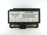POTTERTON KINGFISHER MF PCB CONTROL UNIT 900312 407779