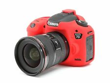 Camera silicone cover for Canon EOS 7D Mark 2 Red