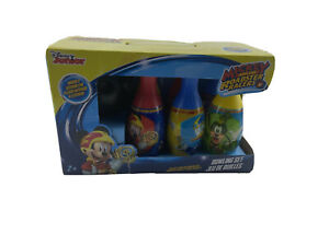 Disney Mickey Mouse Bowling Set in Display Box indoor outdoor bowling toy large