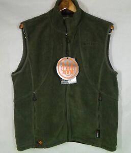 Beretta Active Track Fleece Vest Green XL