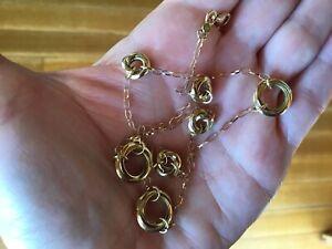 Designer Roberto Coin 18kt Gold Necklace