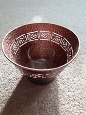 Partylite Votive Candle Holder Global Inspirations Bronze.New in box.