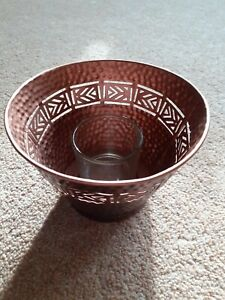 Partylite Votive Candle Holder Global Inspirations Bronze New in box