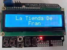 Arduino LCD1602  Keypad Shield Compatible  UNO/MEGA /R3 /Due ARD002 Pins Regalo