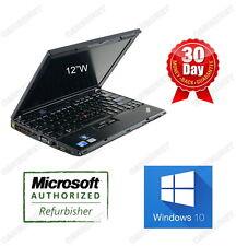 Lenovo ThinkPad X201 i5 2.4GHz 8GB ram 120GB SSD 12'' W10H Warranty NEW BATTERY