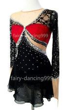 New Ice Figure Skating Dress Baton Twirling Dance Dress Custom Competition p806