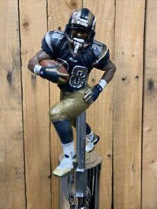 ST LOUIS RAMS Tap Handle Beer Keg  Marshall Faulk FOOTBALL NFL Blue Jersey