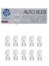 10x T10 W5W 5W 12V W2,1x9,5d Glüh Lampe Birne Glassockel Standlicht KFZ PKW TOP