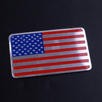 3D Metall US Flagge Auto Aufkleber Amerika flag Emblem Plakette Car Sticker