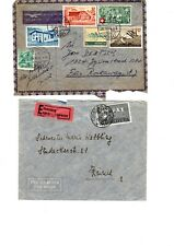 Switzerland postally used commercial x  covers