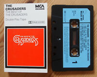 CRUSADERS - THE BEST OF (MCA MCLDC602) 1980s UK CASSETTE TAPE EX CONDITION!