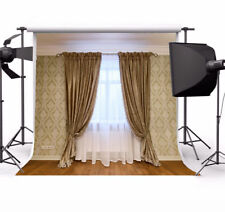 Backdrop 8x8FT Vinyl Seamless Double Curtains Photography Background -US