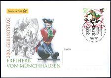 Frg 2020: Freiherr Von By Munchausen! post-Fdc No. 3546! Used! 20-07