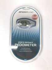 Sportline Step and Distance Pedometer 340. New Factory Sealed.