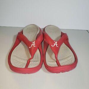Crocs University Of Alabama Flip Flops Size 13 Men Sandals