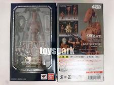 S.h.Figuarts Star Wars BATTLE DROID Geonosis Color action figure with C-3PO HEAD