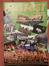 VW Vanfest, Busfest 2012 Show Guide Brochure Three Counties Showground