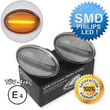 2x OEM LED BLINKER MINI COOPER R56 R57 BLINKLEUCHTE SEITENBLINKER WEIß CLEAR