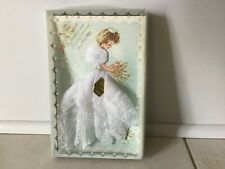 Vintage White Bridal Hankie Bride created by Treasure Masters Nib