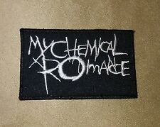 """3.5"""" MY CHEMICAL ROMANCE Iron-on Logo PATCH! Perfect for Hat/Shirt/Jacket/Cap"""