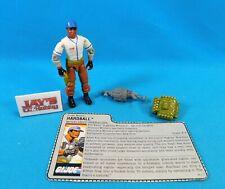 Vintage 1988 Hardball (v1) Figure Gi Joe Arah Hasbro Complete with File Card