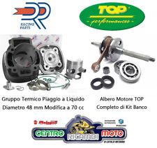 Gruppo Termico Maggiorato DR 70 cc Albero Motore PIAGGIO Raffreddamento liquido